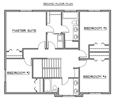 Denali II ~ Upper level similar to model