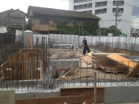 IGM船橋教会駅前会堂 基礎スラブ打設