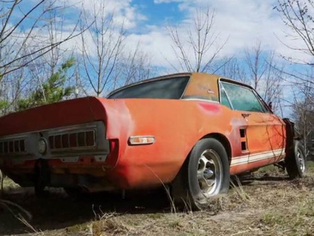 1967 Ford Shelby GT500 EXP Prototype Has Been Found!