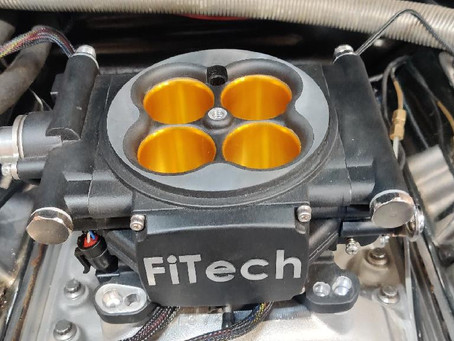 FiTech Fuel Injection on a Fox Body Dragster