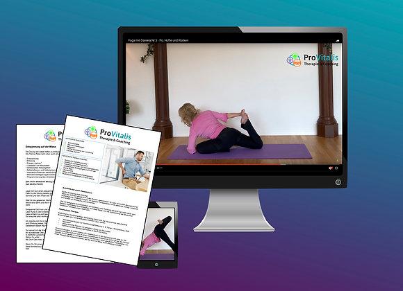 Zugang Yogaprogramm