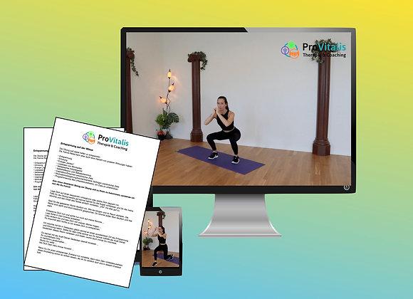 Zugang Bauch, Beine & Po online Trainingsprogramm