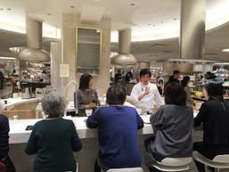 伊勢丹 新宿店にて岡山の食材を使った料理セミナー