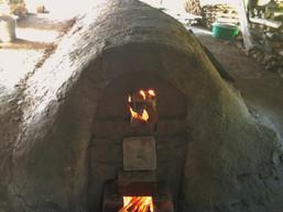 備前焼 窯焚き