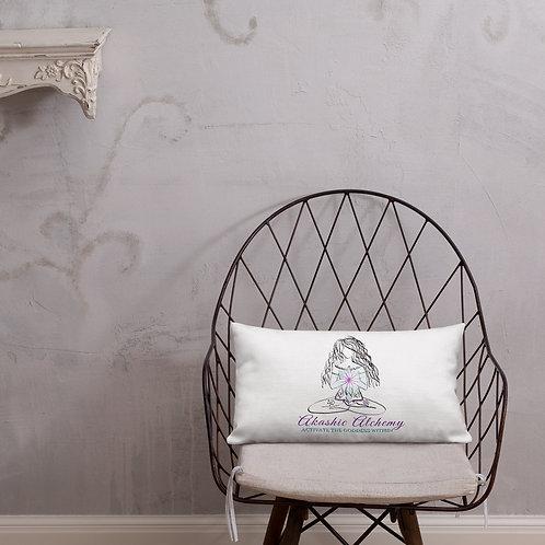 AKASHIC ALCHEMY Premium Pillow