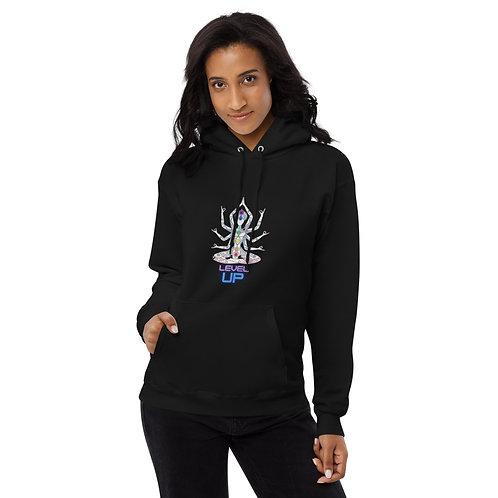 AKASHIC ALCHEMY LEVEL UP Unisex fleece hoodie
