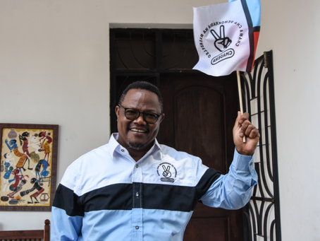 Tanzanian police block opposition candidate's entourage