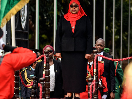 Tanzania's first female president has inherited a Covid mess