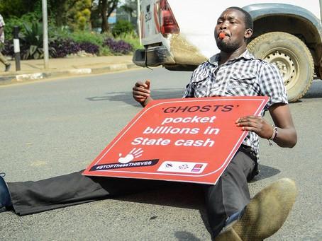 Kenyans protest over growing debt