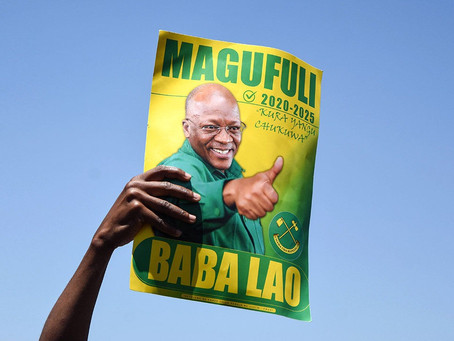 The bulldozer rumbles on: President Magufuli is likely to win an unfair vote in Tanzania