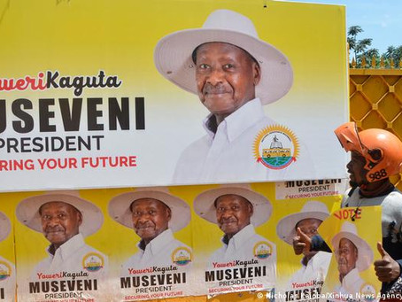 Uganda's Museveni tightens grip on power