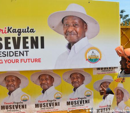 Uganda's Museveni tightens grip on power