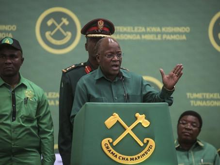 Tanzania's president admits country has COVID-19 problem