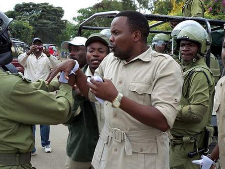 Former Tanzanian MP arrested after fleeing to Kenya