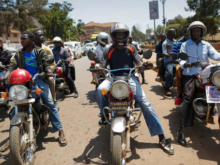 'Sex for a fare' motorcycle taxis threaten Uganda's fight against Aids