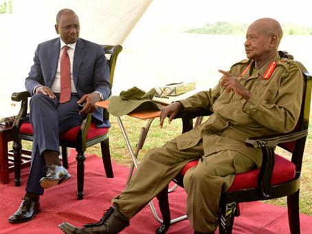 I'm ready to retire, Museveni tells Ruto