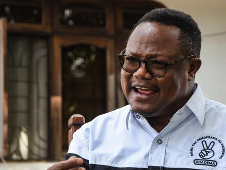 Tanzania opposition leader flees country after election