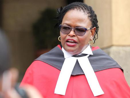 Martha Koome: Kenya chief justice says corruption a national embarrassment