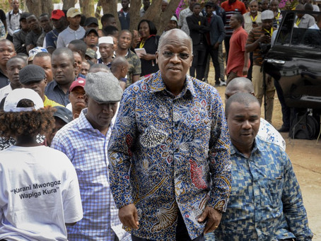 Politicians ask about health of Tanzania's populist leader