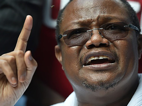Tanzanian opposition leader takes inspiration from ANC and calls for sanctions after John Magufuli's