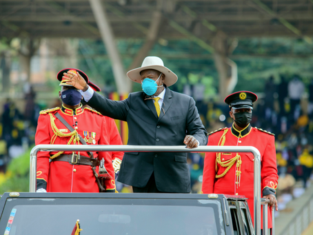 Uganda's Museveni sworn in for sixth term