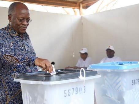Tanzania elections: Tundu Lissu alleges 'shameless' fraud