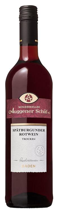 2019 Spätburgunder Rotwein Qualitätswein trocken