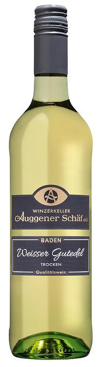 Weißer Gutedel Qualitätswein trocken