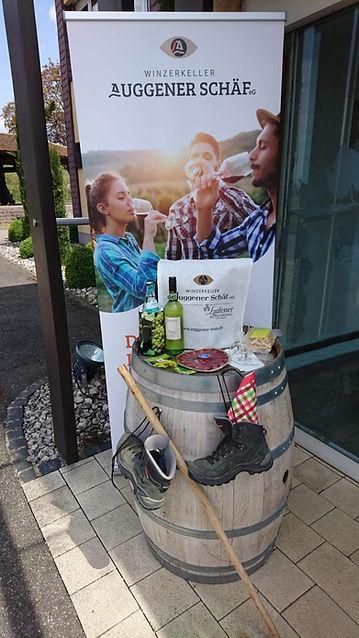 Weinwandertasche Auggener Schäf