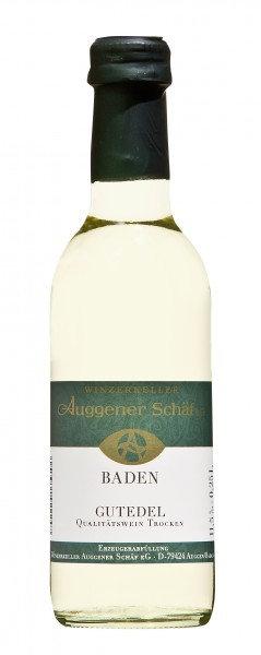 Gutedel Qualitätswein trocken