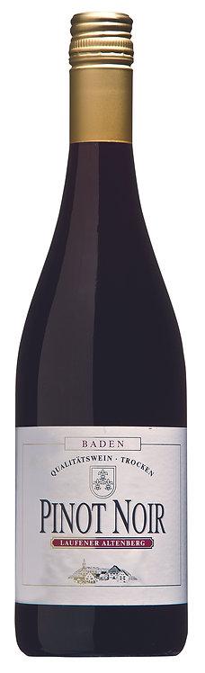 Pinot Noir Qualitätswein trocken, im Fumé gereift