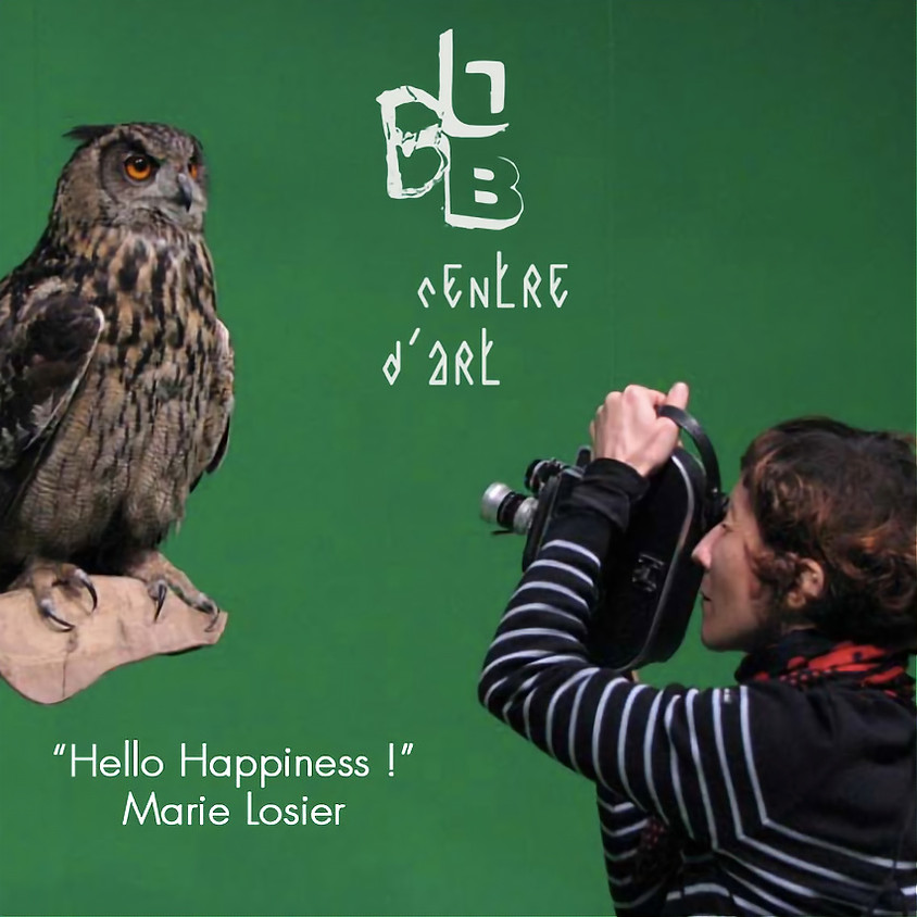 """Apéro Art: """"Hello Happiness!"""" by Marie Losier @BBB Centre d'Art, Toulouse"""