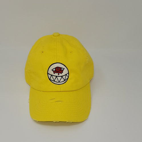 Distressed Yellow Dad Hat
