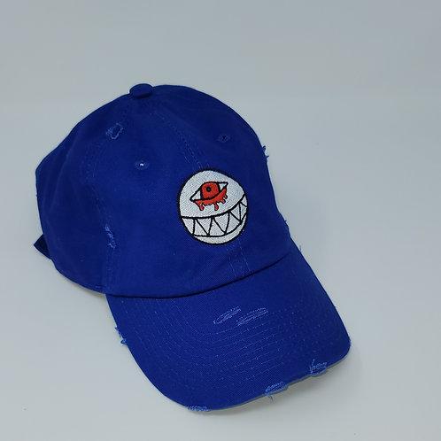 Distressed Royal Dad Hat