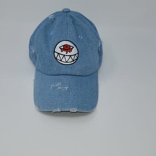 Distressed Light Denim Dad Hat