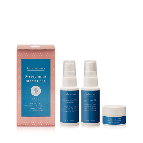 3 Step Mini Starter Set - Dry Skin