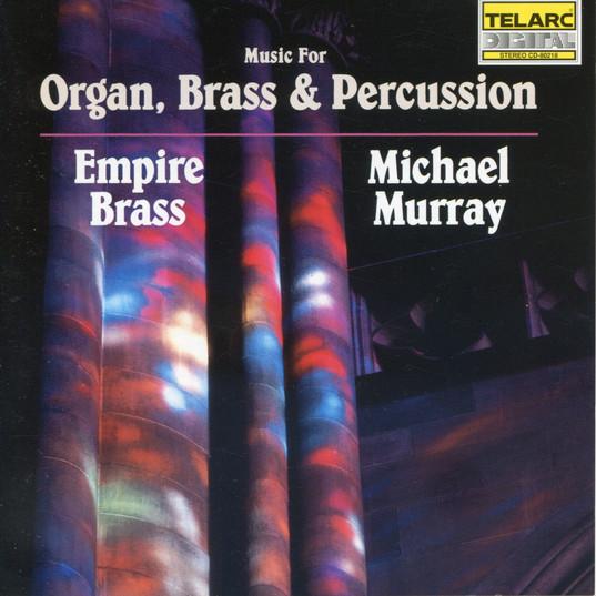 Music for Organ, Brass & Percussion-EBQ.