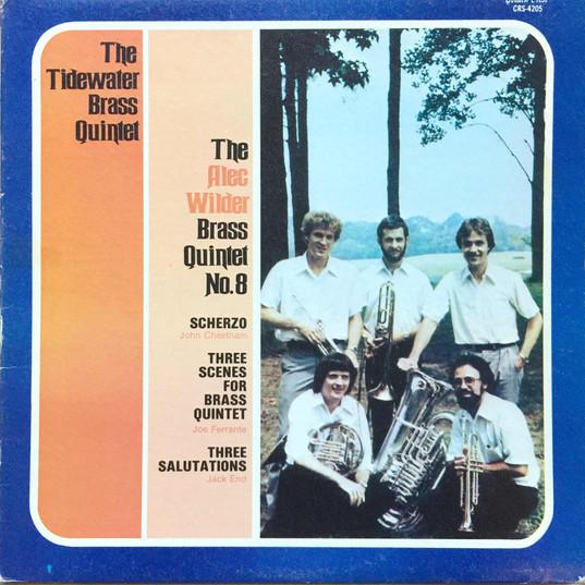 Wilder Brass Quintet no. 8-Tidewater Bra