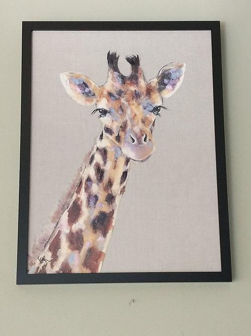 Giraffe 64.5 cm X 84.5 cm