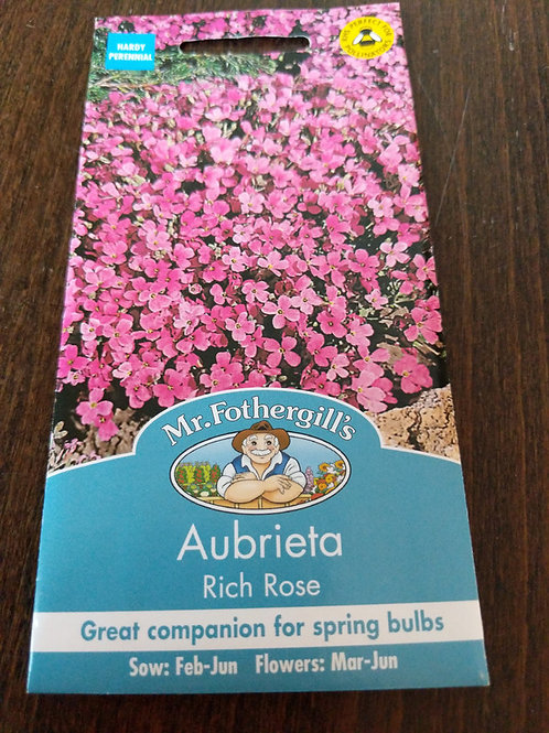 Aubrieta Rich Rose