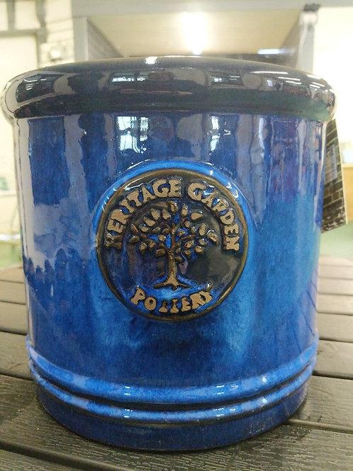 25 cm Blue Heritage Cylinder