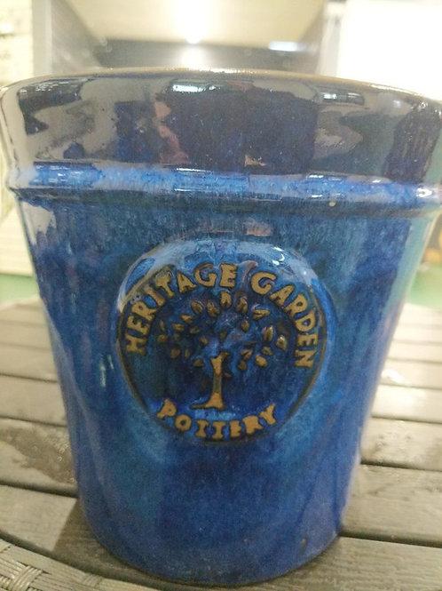 20 cm Blue Heritage Pot