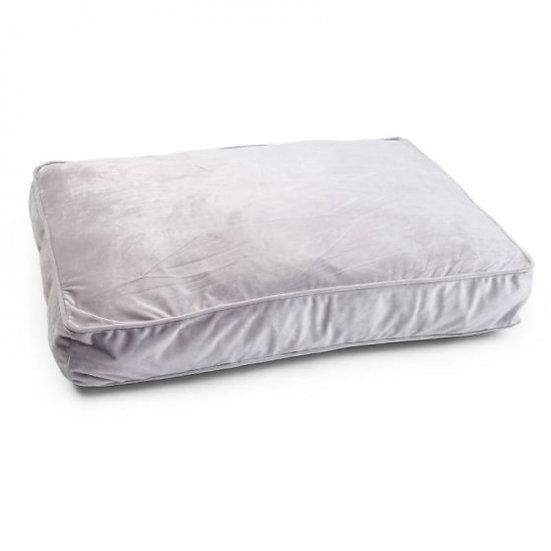 Silver Grey Velour  Gusset Mattress