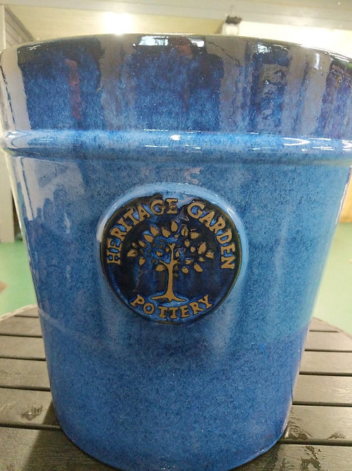 41 cm Blue Heritage Pot