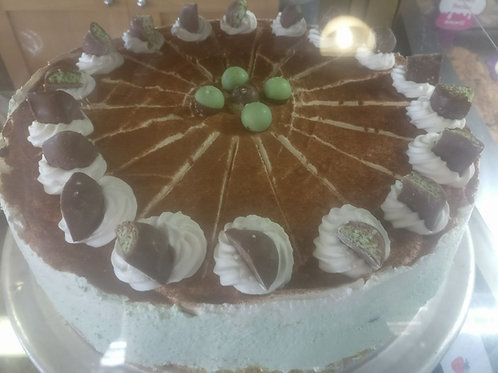 Cheesecake - small -  Mint Aero