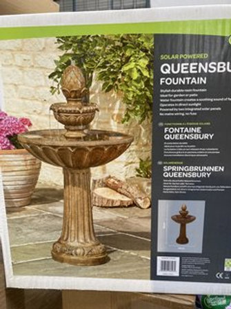 Queensbury fountain