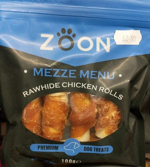 Rawhide Chicken Rolls