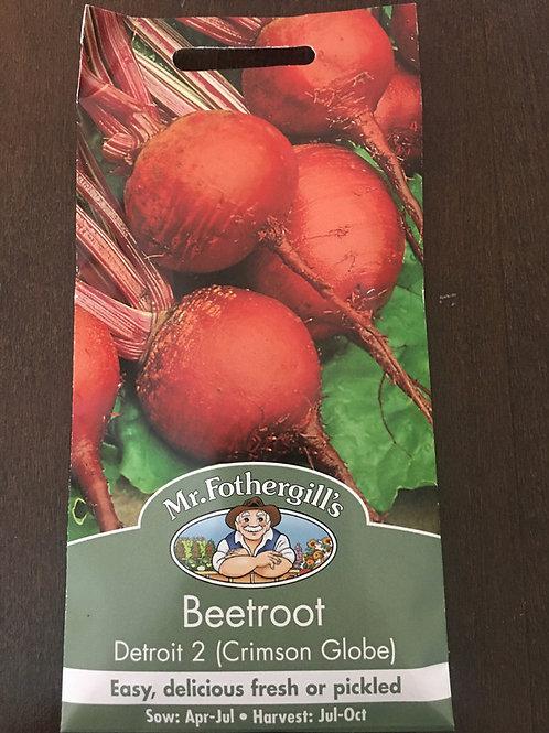 Beetroot Detroit 2 crimson globe