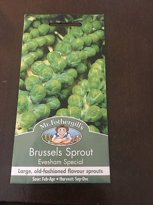 Brussels sprouts Evesham special