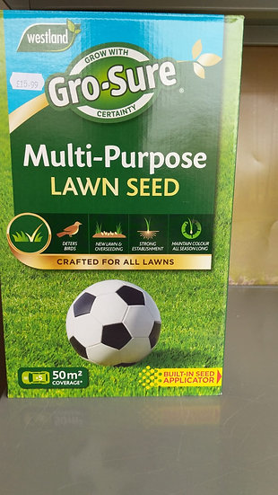 Gro-Sure Multi-Purpose Lawn Seed 10m2